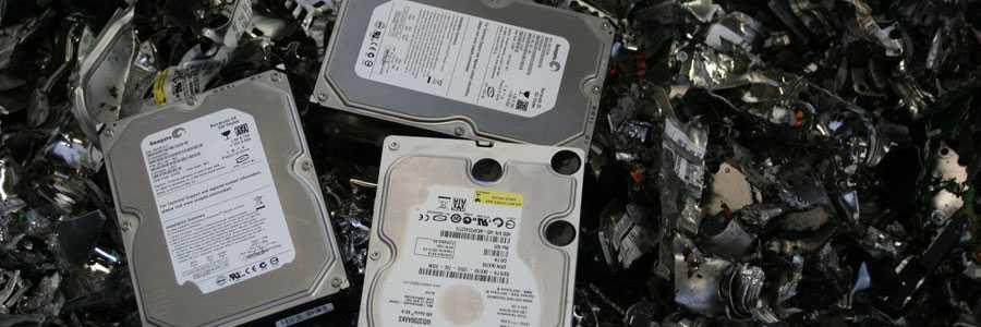 destroyed hard drives